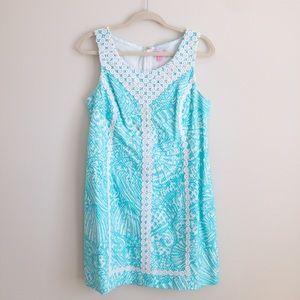 🆕 Lilly Pulitzer Size 12 Shift Dress, Blue